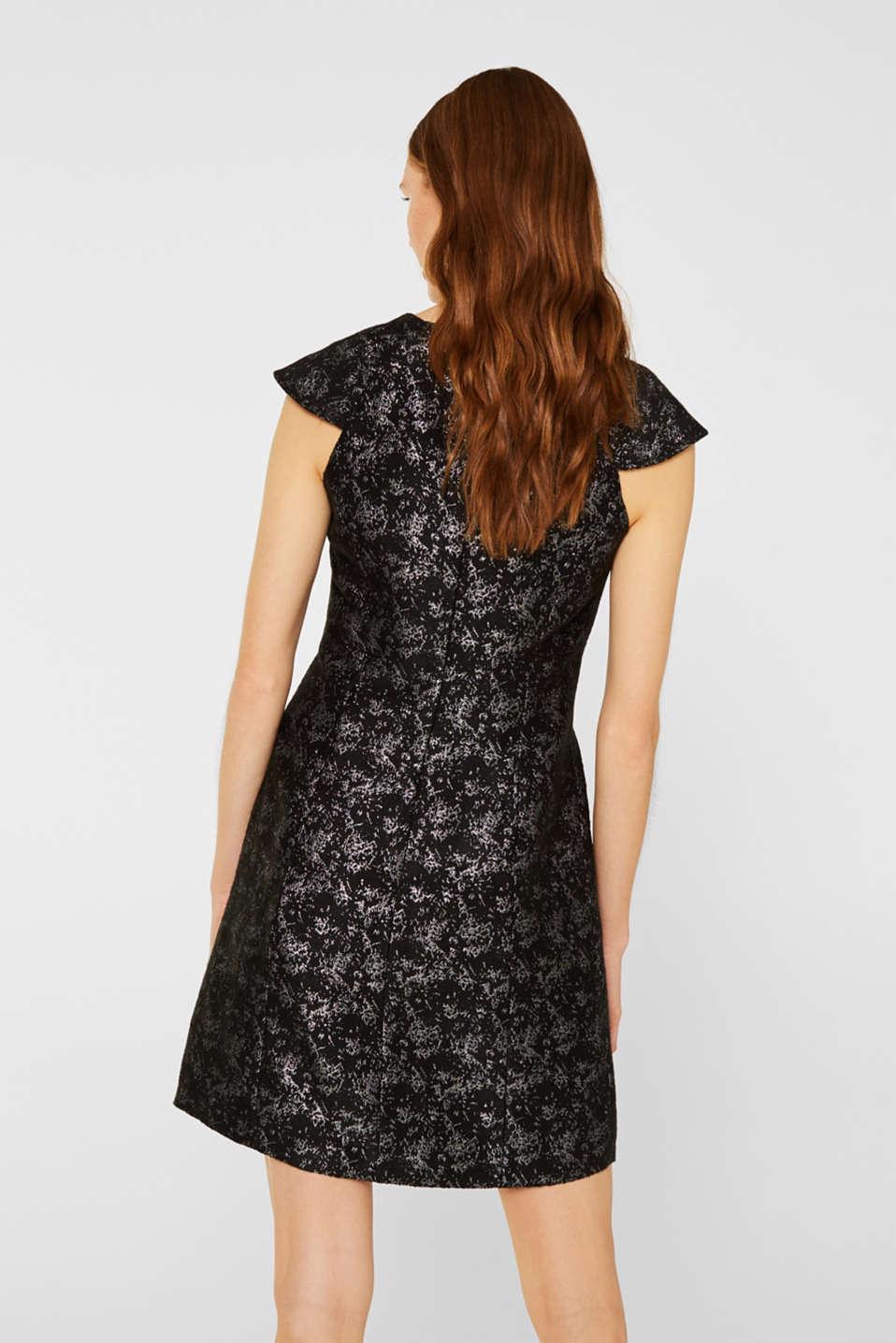 Dresses woven, BLACK, detail image number 3
