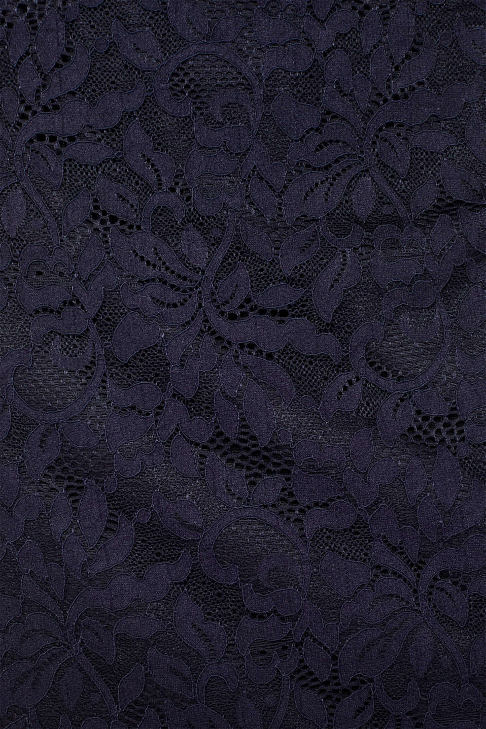Floral lace dress with stretch, NAVY, detail image number 4