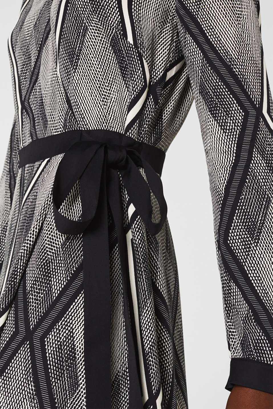 Dresses light woven, BLACK 3, detail image number 3
