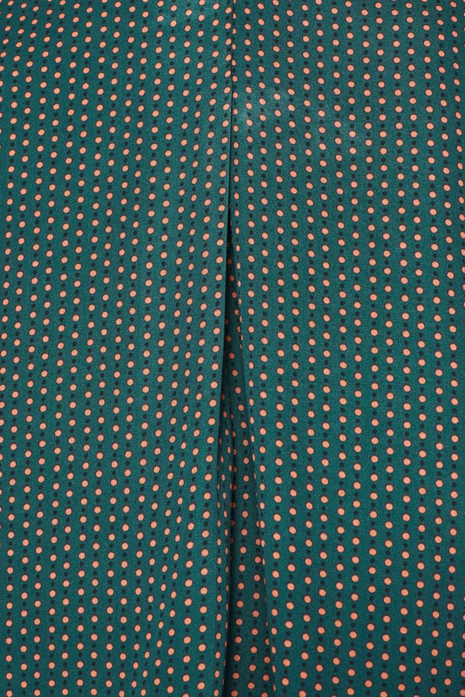 Blouses woven, BOTTLE GREEN 4, detail image number 4