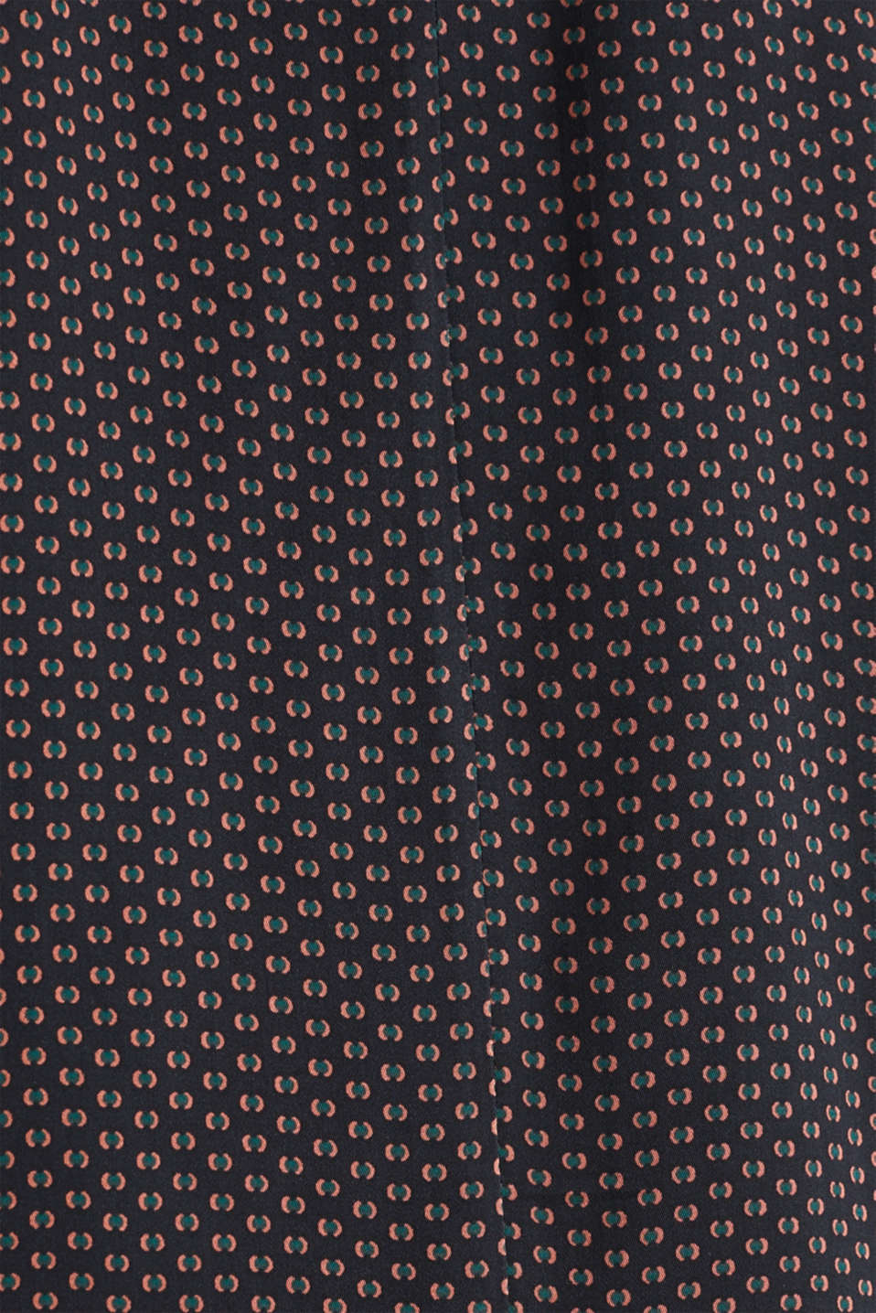 Floaty printed blouse with turn-down collar, NAVY 4, detail image number 3