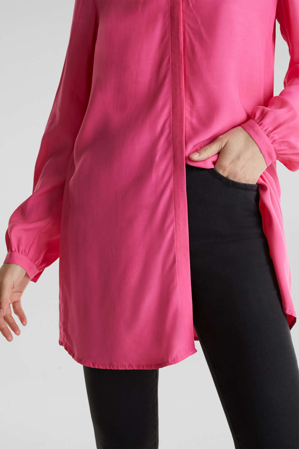 Blouses woven, PINK, detail image number 2