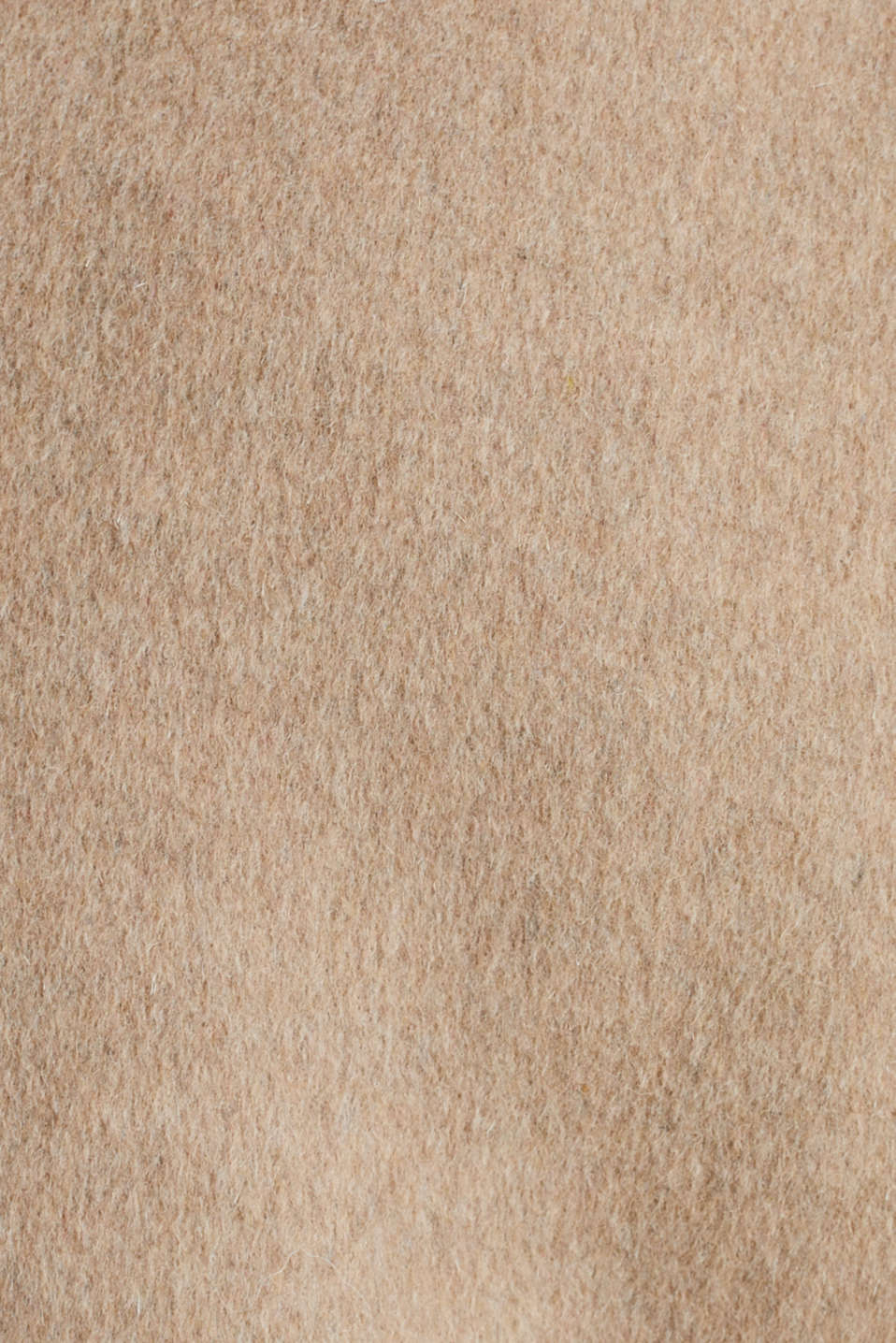 Made of blended wool: Coat with check details, BEIGE 5, detail image number 3