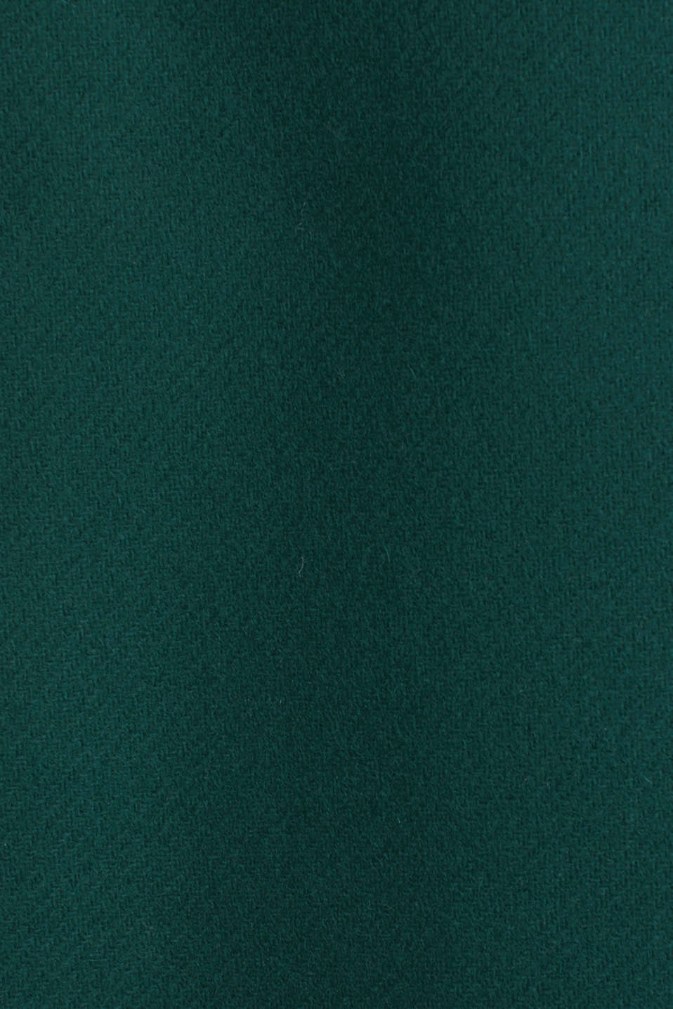 Wool blend: Coat made of Italian yarn, BOTTLE GREEN, detail image number 4