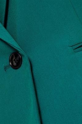 One-button blazer with stretch, BOTTLE GREEN, detail