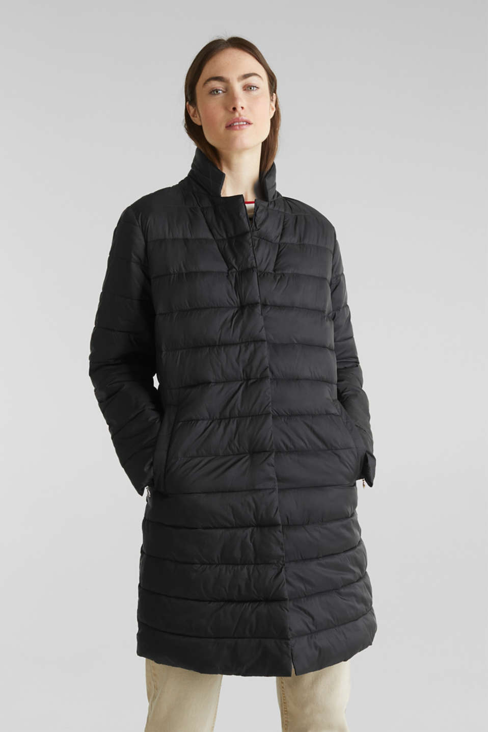 Esprit - Manteau matelassé au rembourrage 3M™ Thinsulate™
