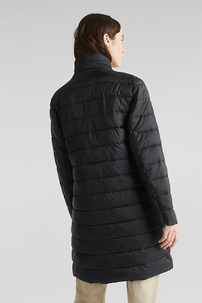 Quilted coat with 3M™ Thinsulate™ filling, BLACK, detail image number 2