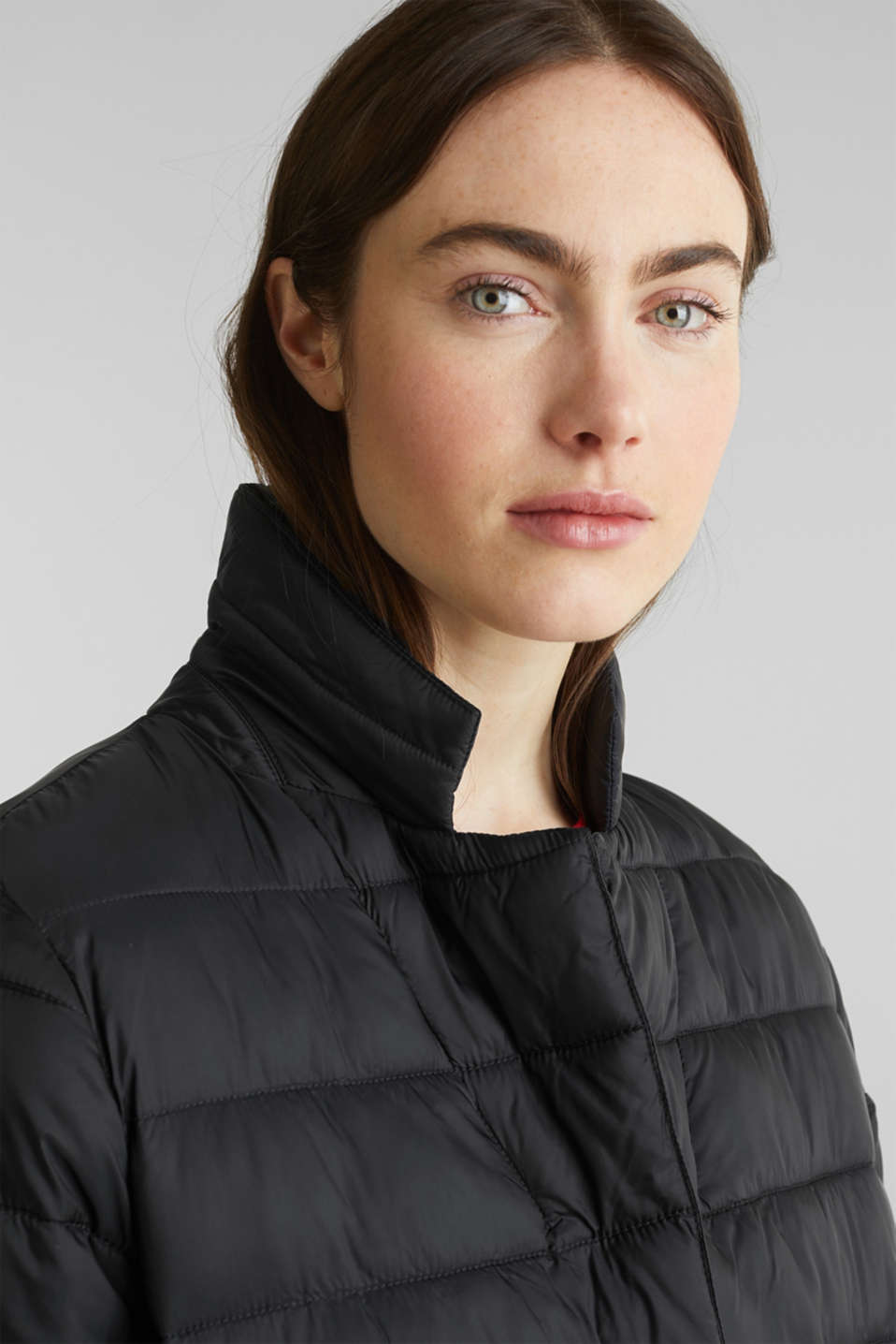 Quilted coat with 3M™ Thinsulate™ filling, BLACK, detail image number 6