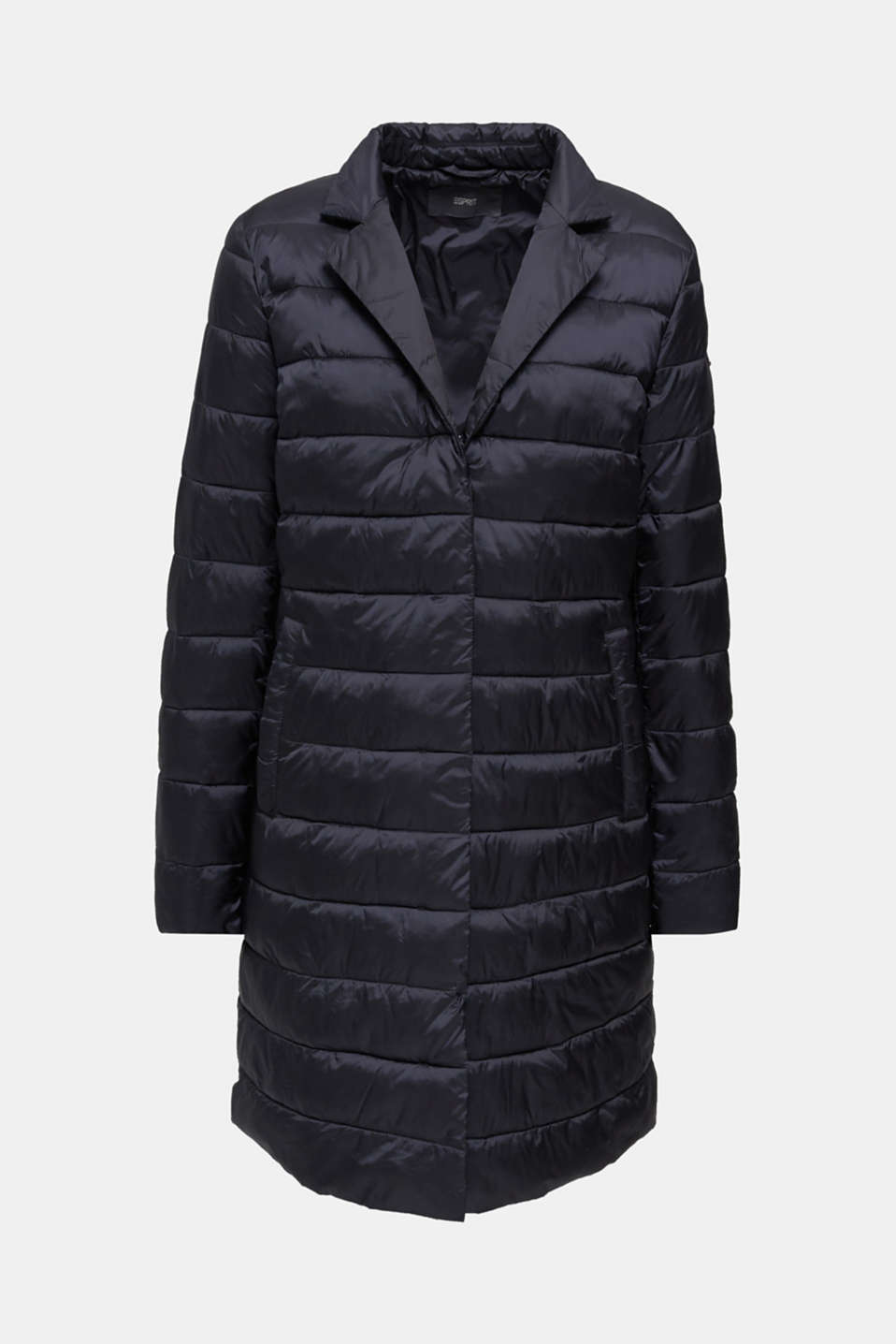 Quilted coat with 3M™ Thinsulate™ filling, BLACK, detail image number 7