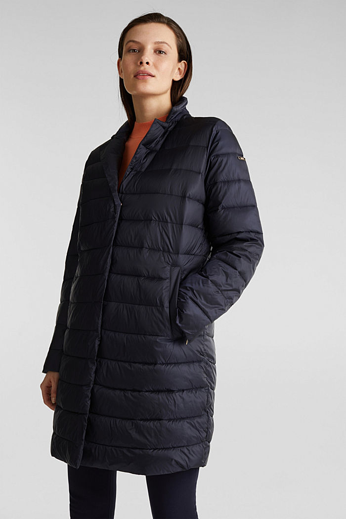 Quilted coat with 3M™ Thinsulate™ filling, NAVY, detail image number 5