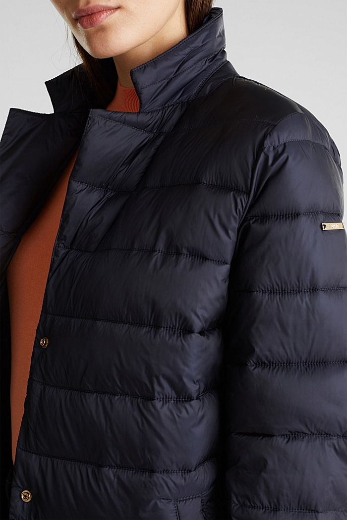 Quilted coat with 3M™ Thinsulate™ filling, NAVY, detail image number 2