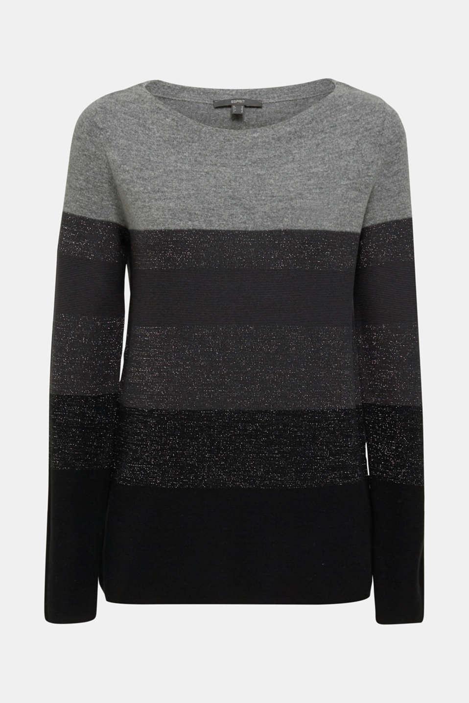 Sweaters, MEDIUM GREY 2, detail image number 5