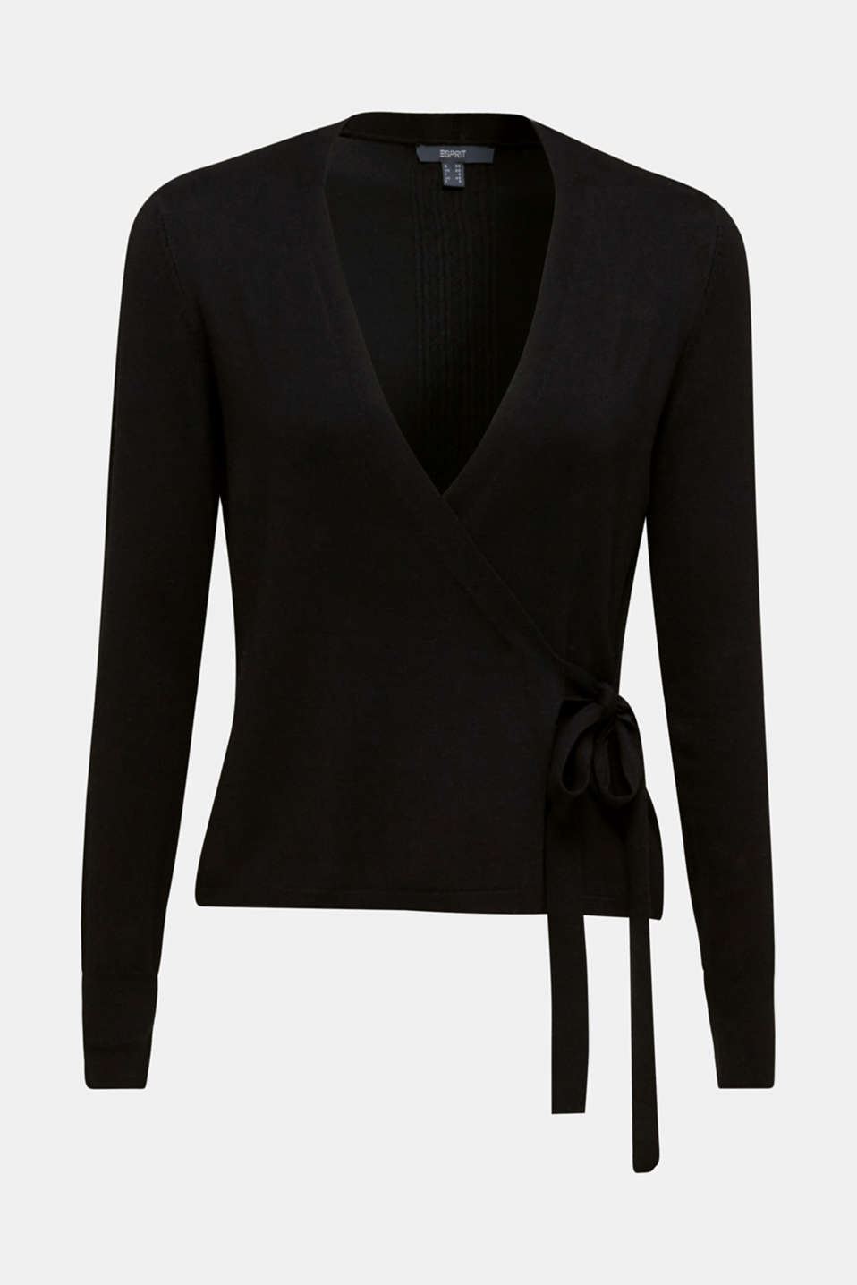 Sweaters cardigan, BLACK, detail image number 7