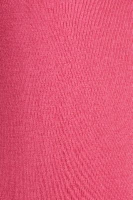Cashmere blend jumper with a square neckline