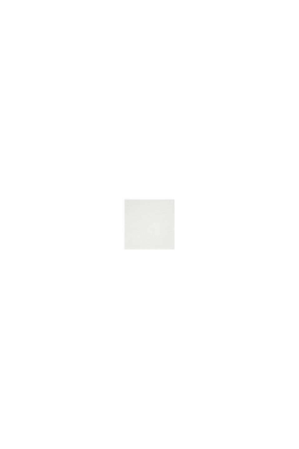 Stretch-Longsleeve mit Smok-Kragen, OFF WHITE, swatch