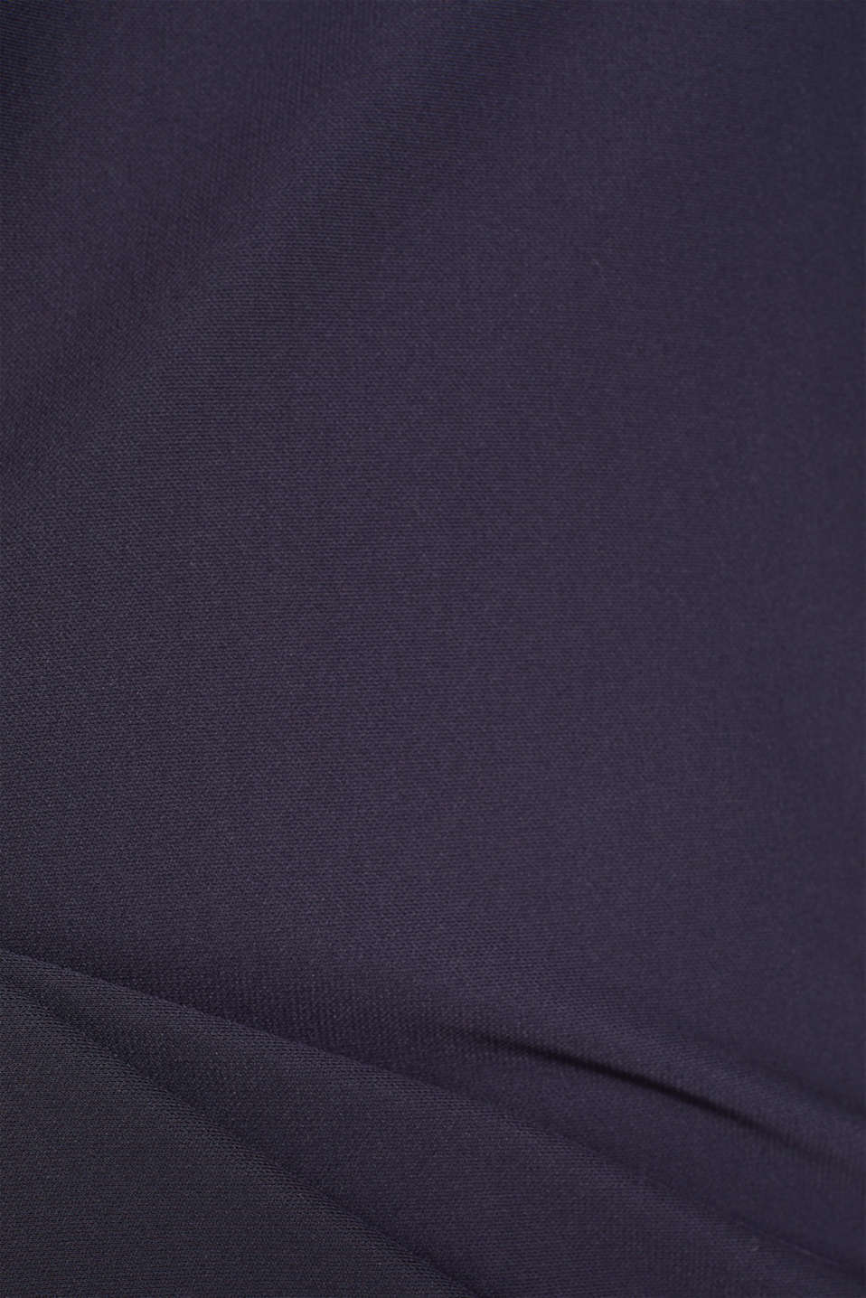 Long sleeve top with batwing sleeves, NAVY, detail image number 4