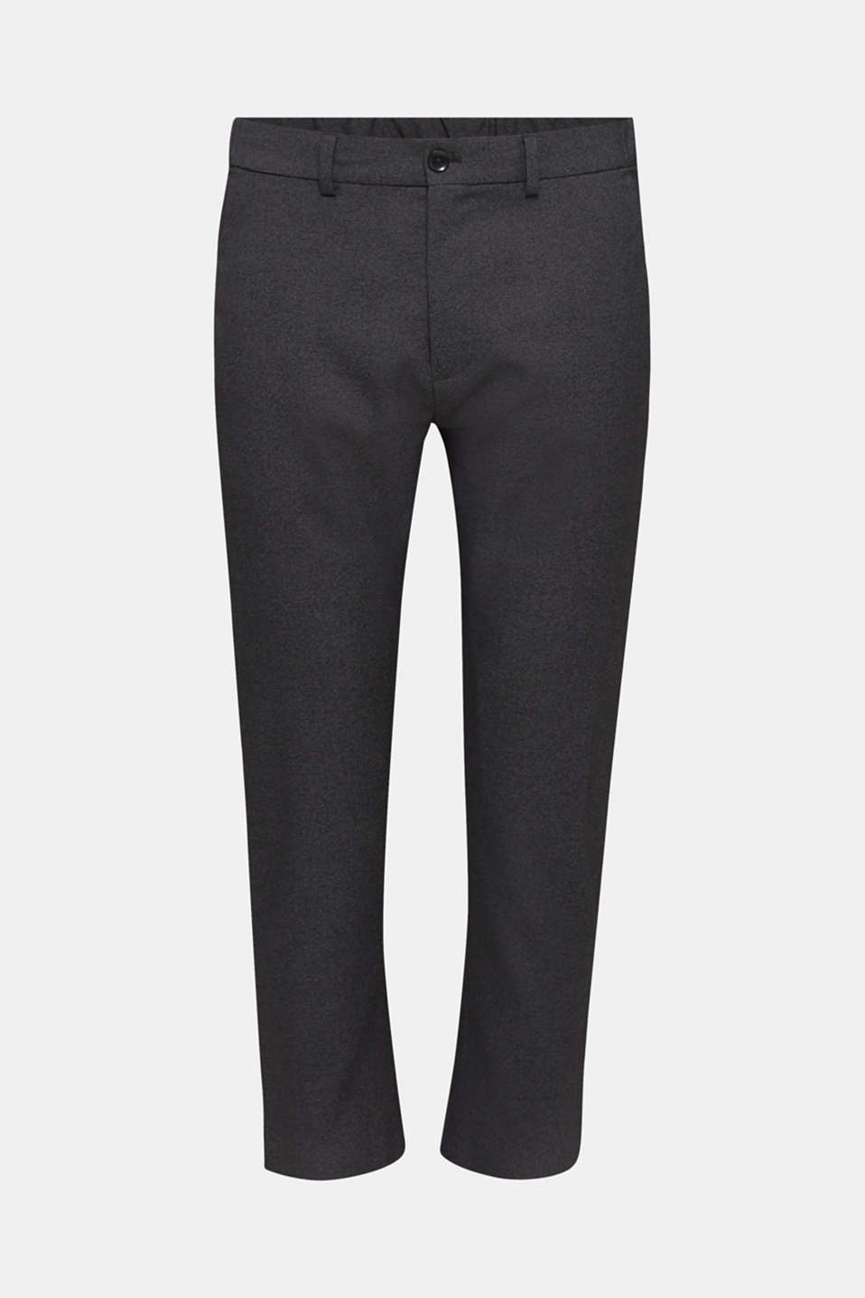 JOGG SUIT mix + match: cropped trousers, DARK GREY 5, detail image number 6