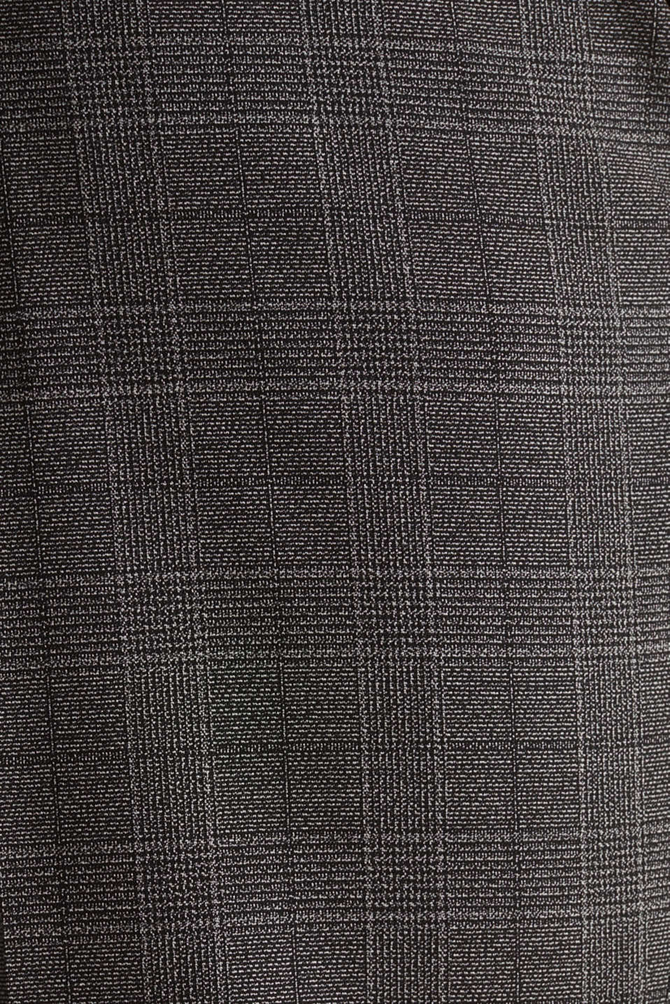 GLENCHECK mix + match: Trousers with Prince of Wales check pattern, DARK GREY 3, detail image number 4