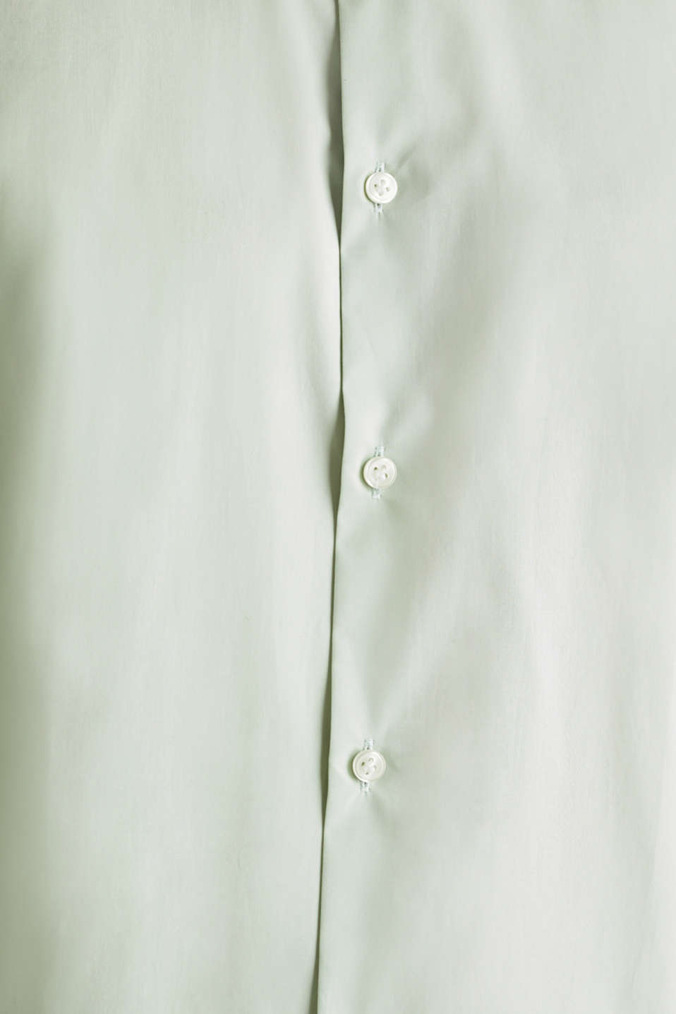 Shirt with mechanical stretch, 100% cotton, LIGHT GREEN 5, detail image number 4