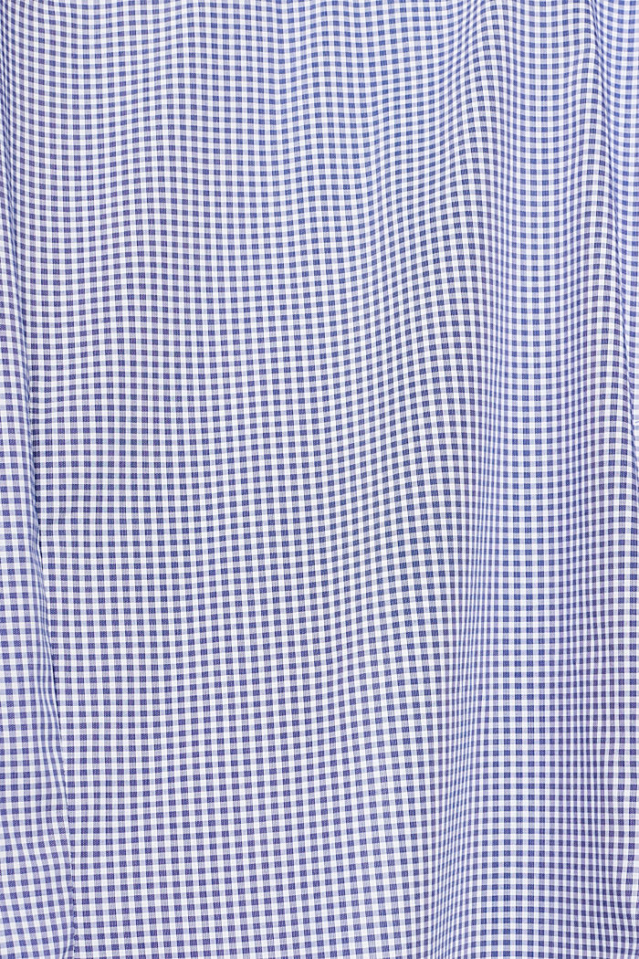 Shirt with mechanical stretch, BLUE, detail image number 4