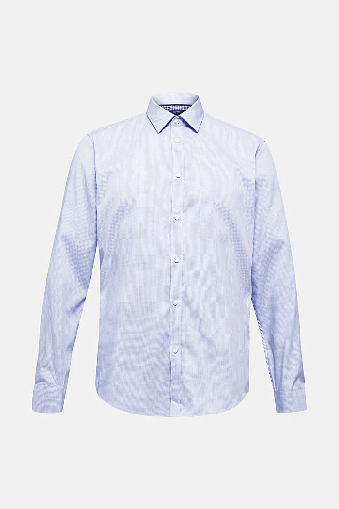 Shirt with mechanical stretch