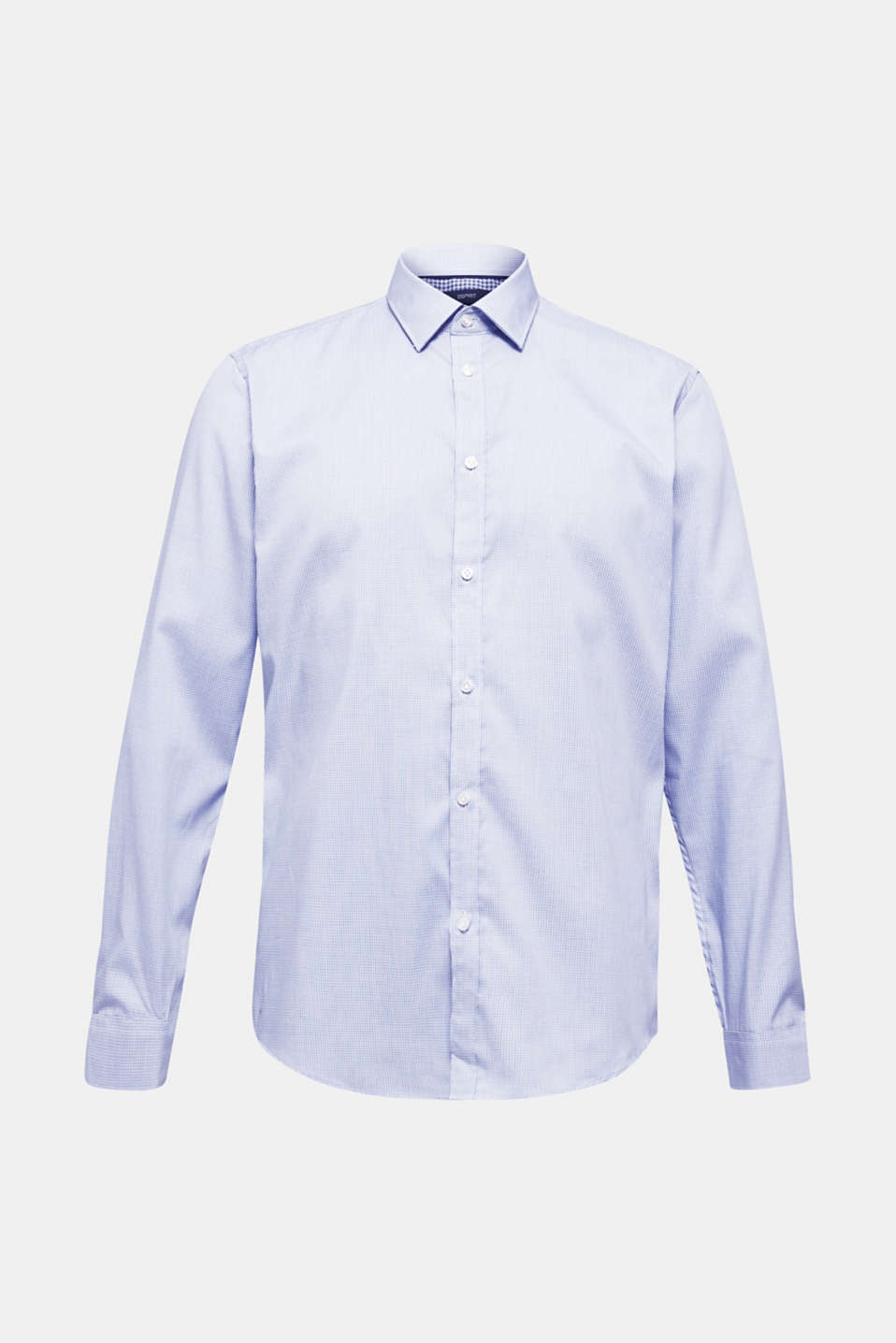 Shirts woven Slim fit, LIGHT BLUE 3, detail image number 6