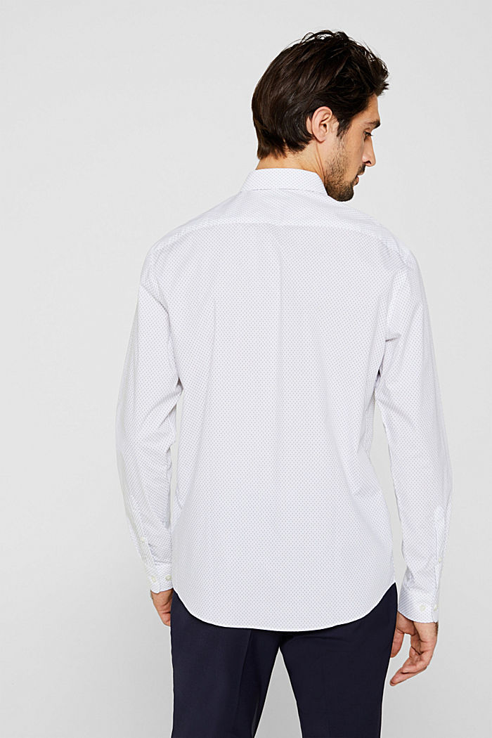 Shirt with mechanical stretch, WHITE, detail image number 3