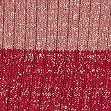 Fine knit socks with a glitter effect, GARNET, swatch