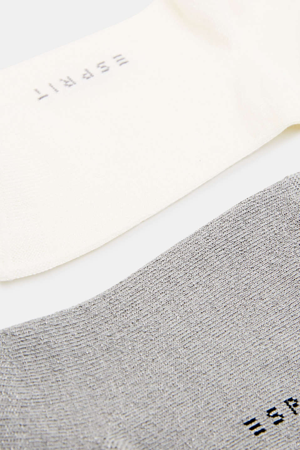 In a double pack: Trainer socks with glitter, SORTIMENT, detail image number 1