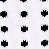 Double pack of socks with a polka dot pattern, WHITE, swatch