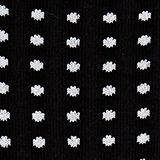 Double pack of socks with a polka dot pattern, BLACK, swatch