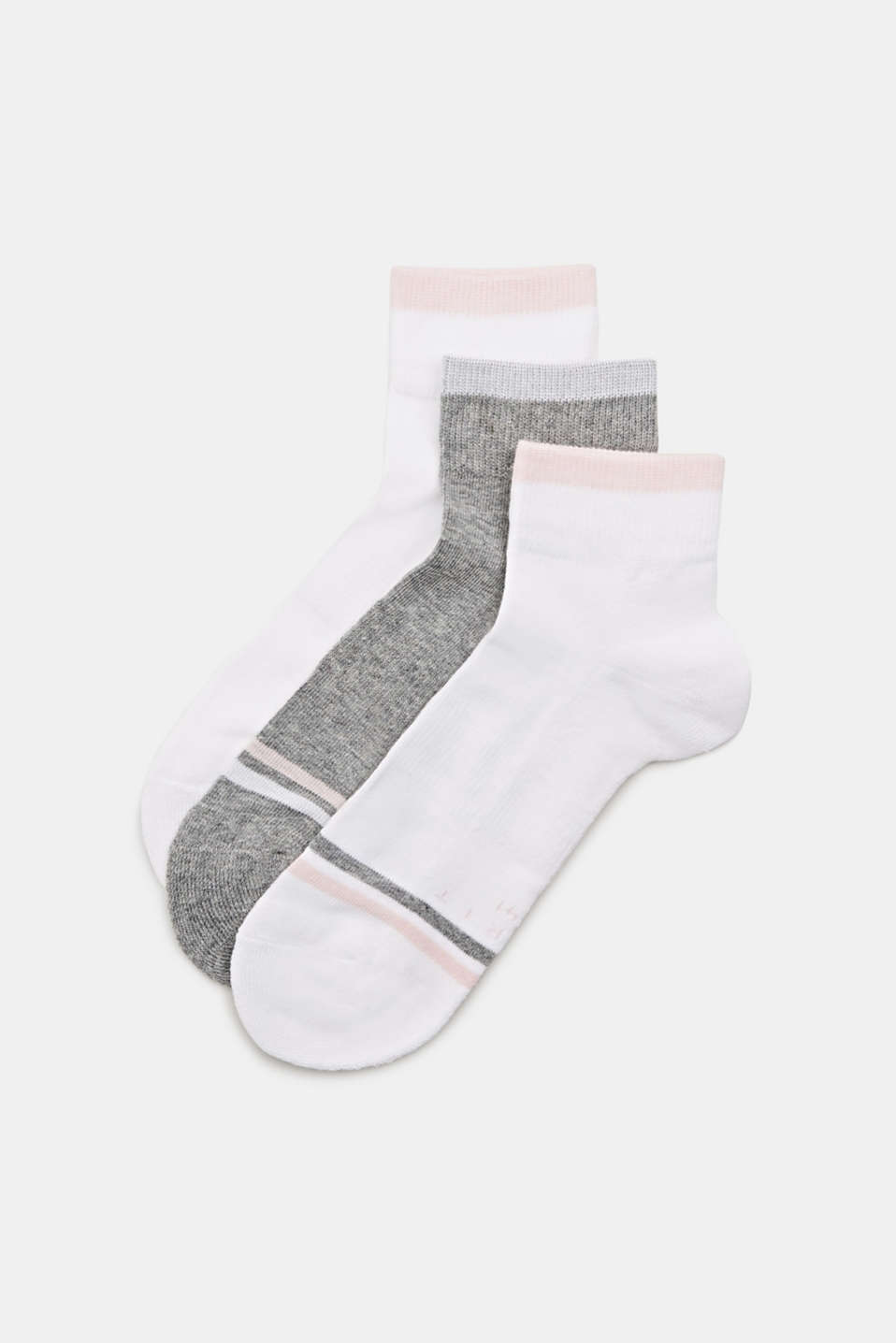 3-pair pack of blended cotton socks, LCSORTIMENT, detail image number 0