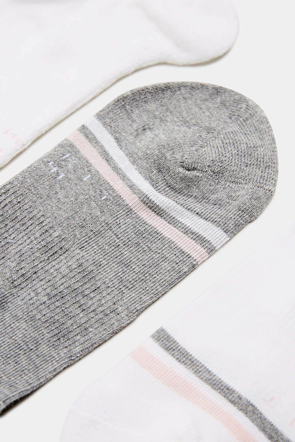 3-pair pack of blended cotton socks, LCSORTIMENT, detail image number 1
