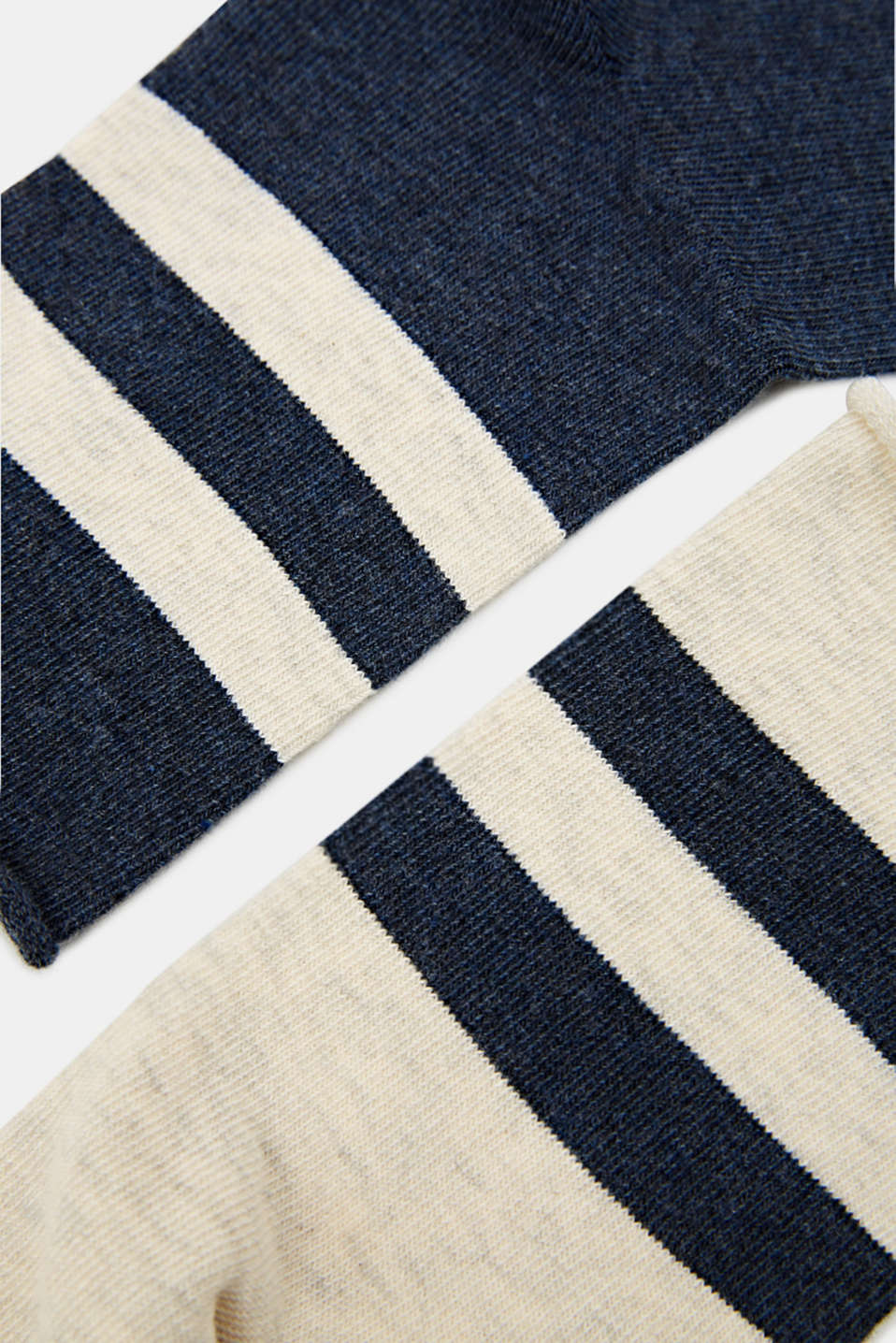 Double pack: socks with perfectly positioned stripes, SORTIMENT, detail image number 1