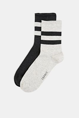 Double pack: socks with perfectly positioned stripes, SORTIMENT, detail