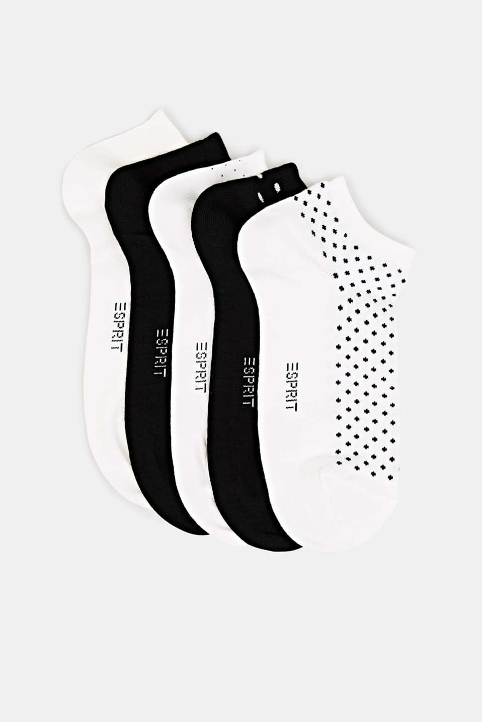 Five pack of trainer socks, SORTIMENT, detail image number 0