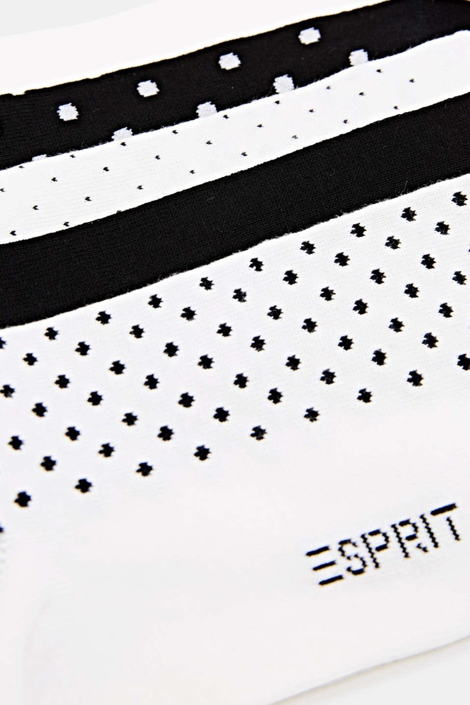 Five pack of trainer socks, SORTIMENT, detail image number 1