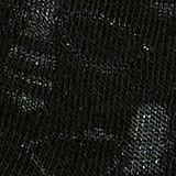 Bee pattern socks, BLACK, swatch