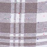 Socks with check pattern, LIGHT GREY MELANGE, swatch