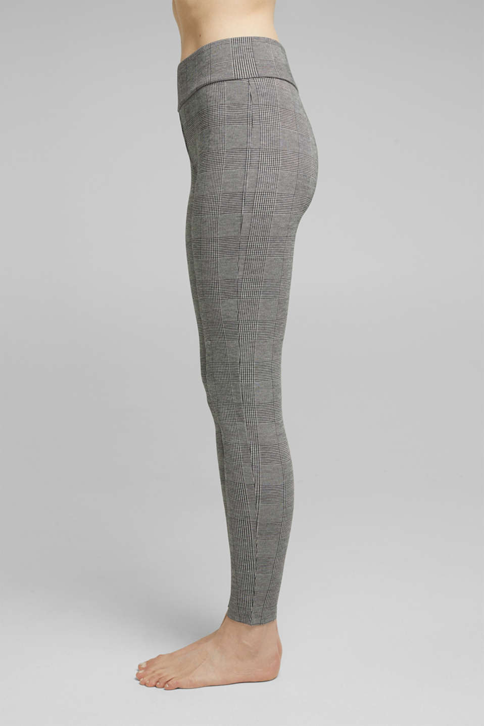 Esprit - 7/8-length jacquard leggings