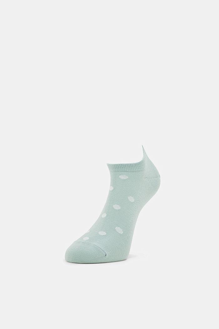 2er-Pack: Sneaker-Socken mit Tupfen, PEPPERMINT, detail image number 2
