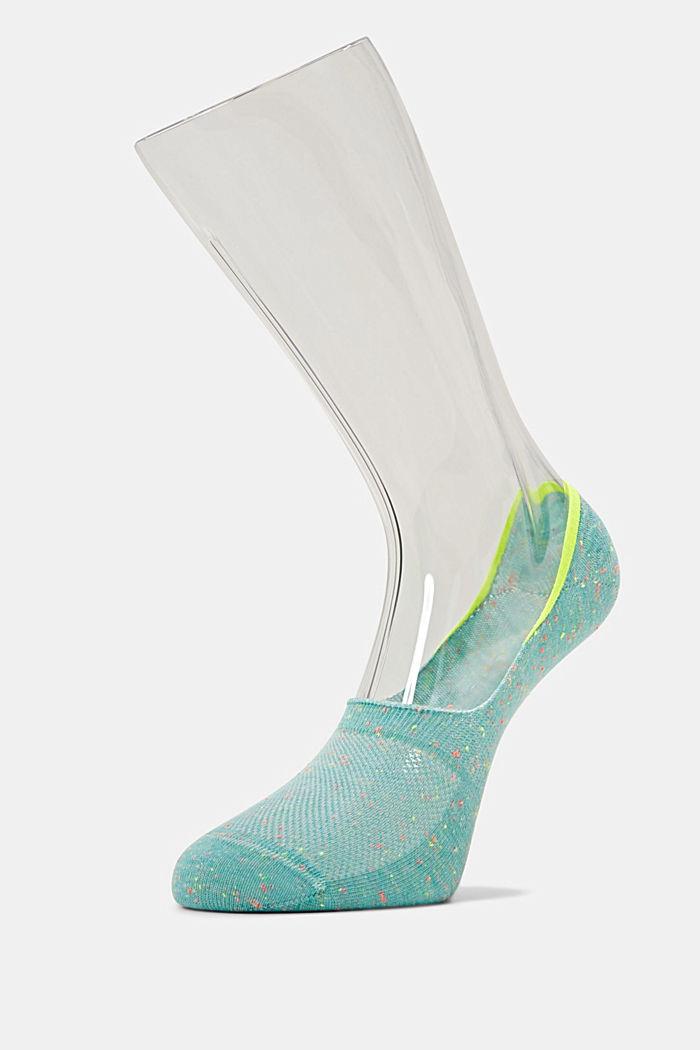 Sneaker-Socken mit Anti Slip, TURQUOISE, detail image number 2