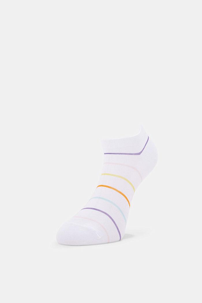 3er-Pack Sneaker-Socken aus Baumwoll-Mix, WHITE, detail image number 2