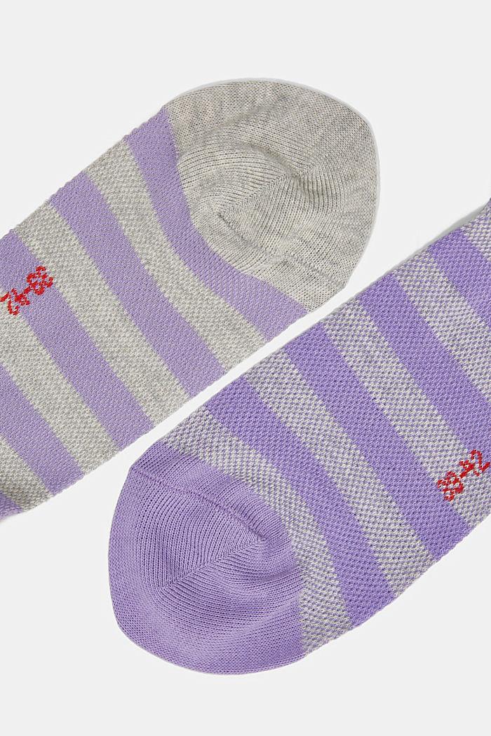 2er-Pack Sneaker-Socken aus Baumwoll-Mesh