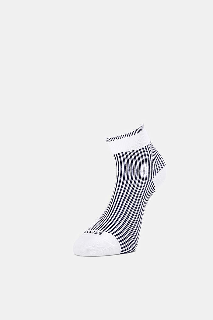 3er-Pack Socken mit Ripp-Struktur, NAVY/WHITE, detail image number 2