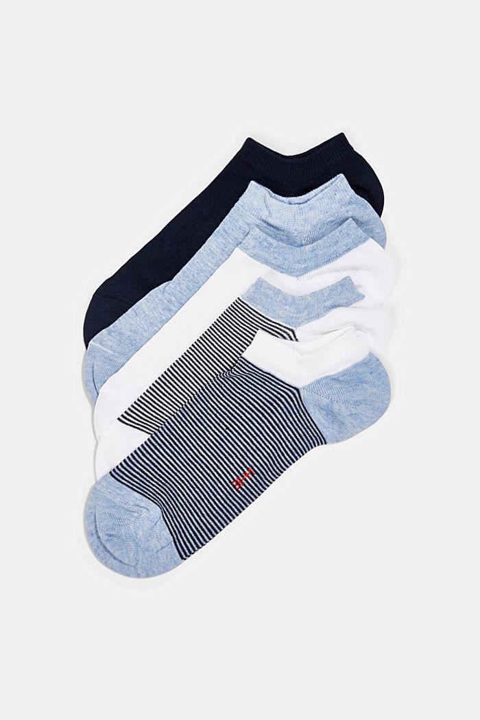 Sneaker socks, BLUE, detail image number 0