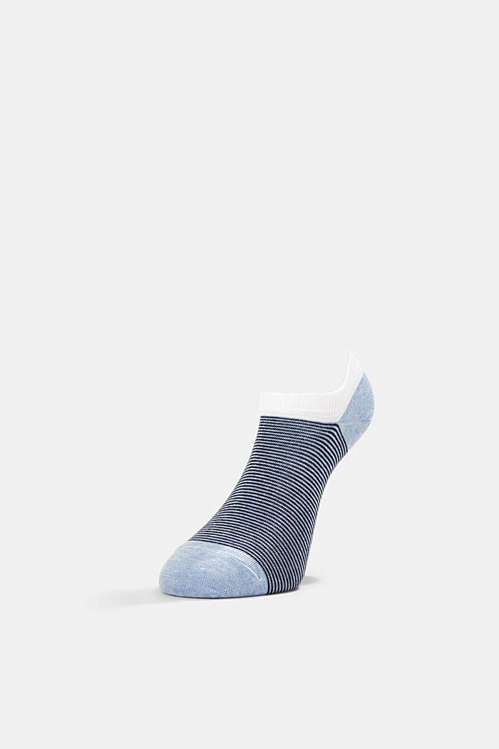 Sneaker socks, BLUE, detail image number 2