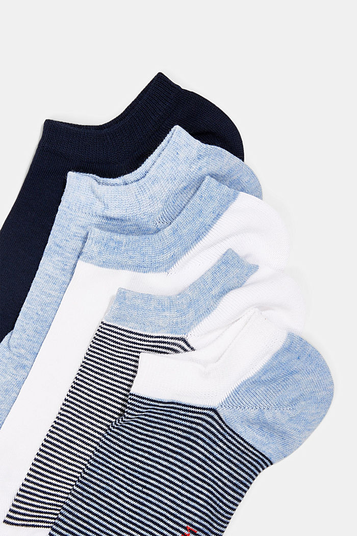 Sneaker socks, BLUE, detail image number 1