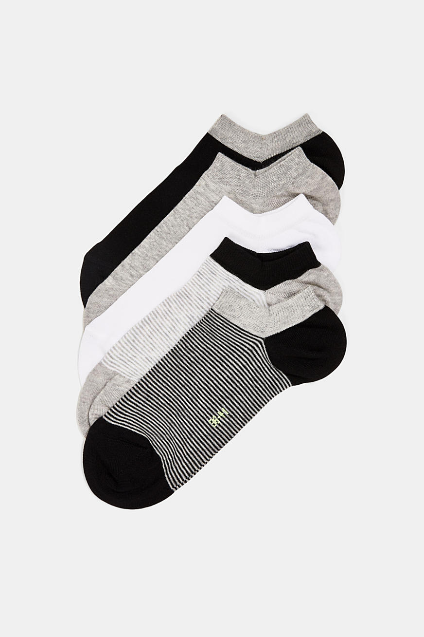 Five pack of trainer socks