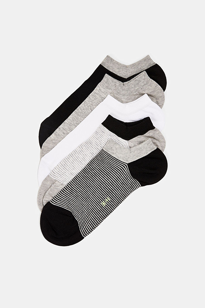 Sneaker socks, GREY, detail image number 0